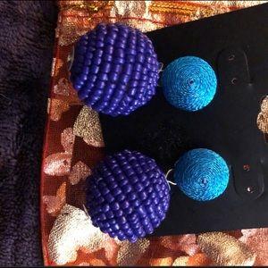 🌼Earring Sale🌼 Purple Drop statement earring.